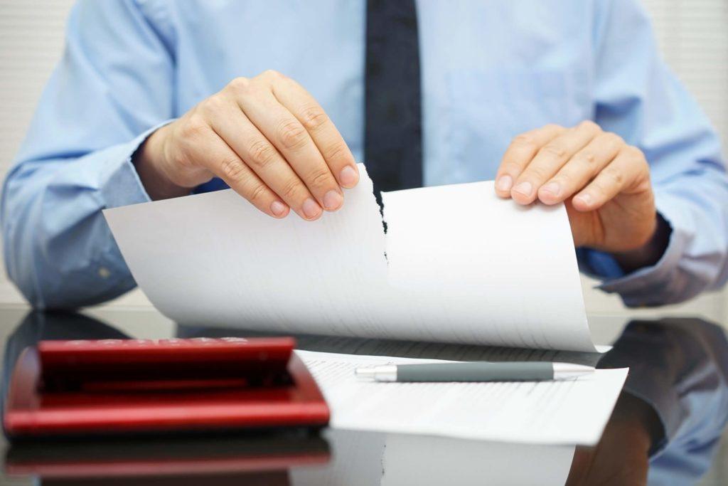 как расторгнуть кредитный договор с банком в одностороннем порядке